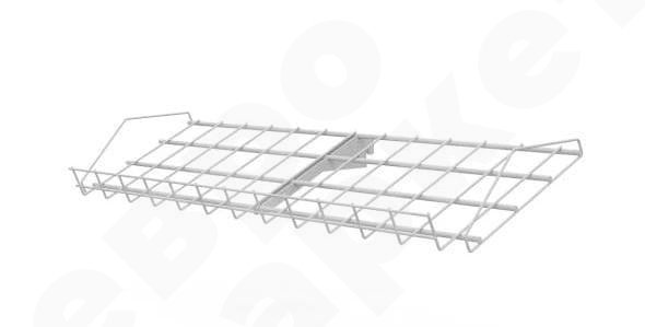 Наклонный блок с одной полкой, 647х215х40 мм