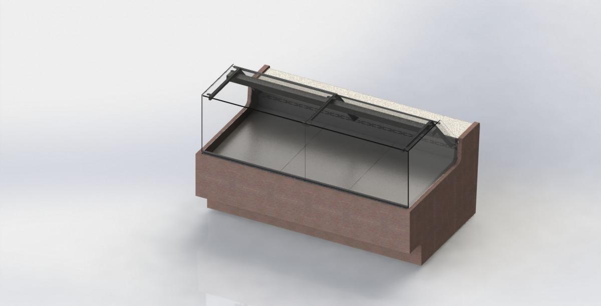 Холодильная витрина для кулинарии SM