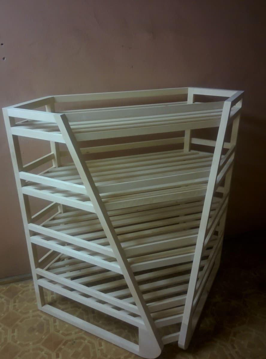Стеллаж для багетов угловой внутренний Арт. В015