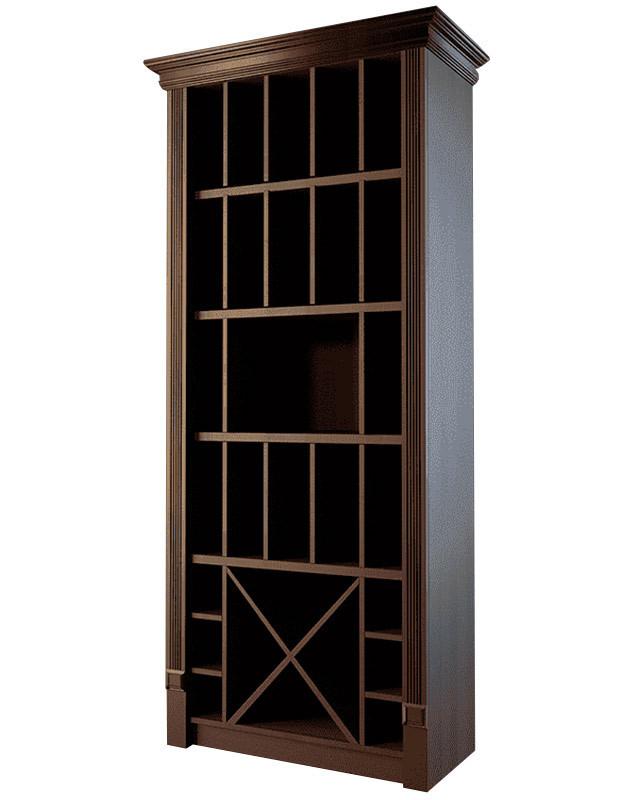 Шкаф для элитного алкоголя с большими секциями LD-006