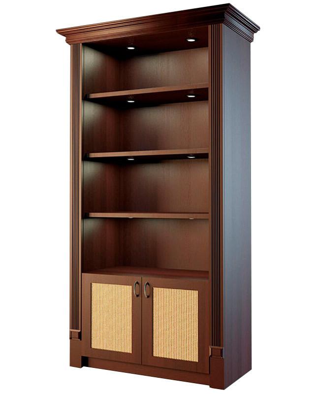 Шкаф для алкогольной продукции с деревянными дверцами LD 001