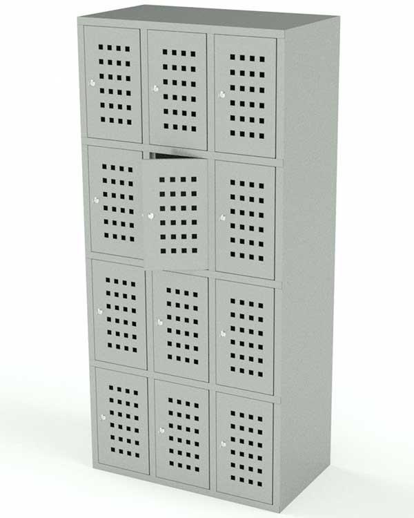 Сумочный шкаф 12 ячеек