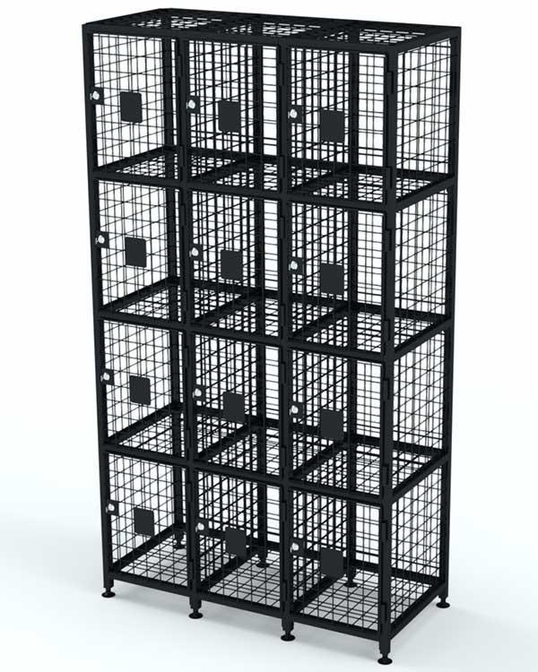 Сумочница сетчатая на 12 ячеек, серия M