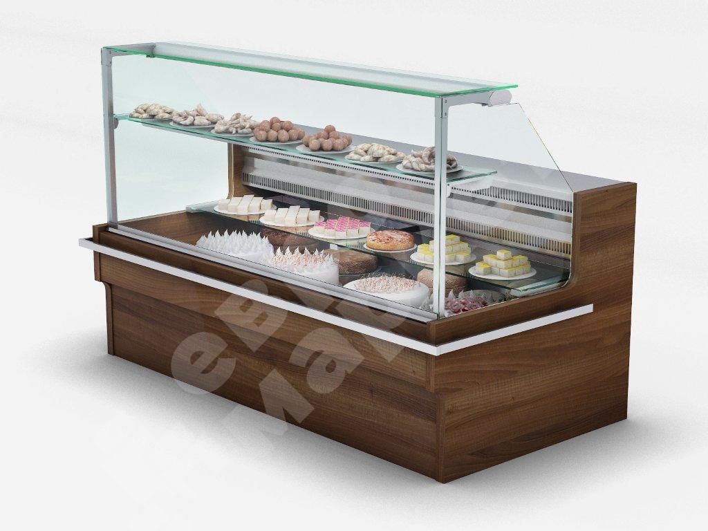 Витрины для десертов купить в Москве   NEOPOD